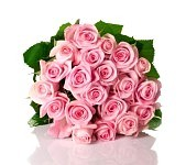 ピンクのブーケ バラ.jpg